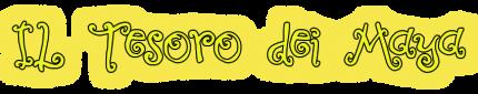 """Logo prenotazione escape room """"Il Tesoro dei Maya"""""""