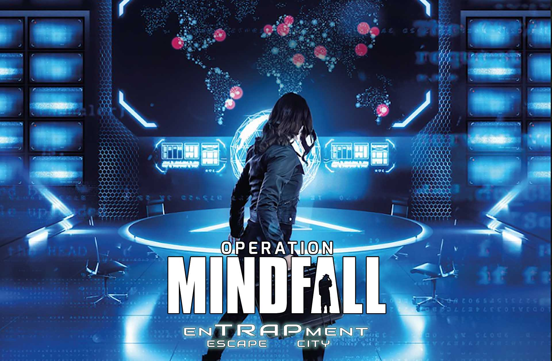 Operation Mindfall - enTRAPment Escape City cover